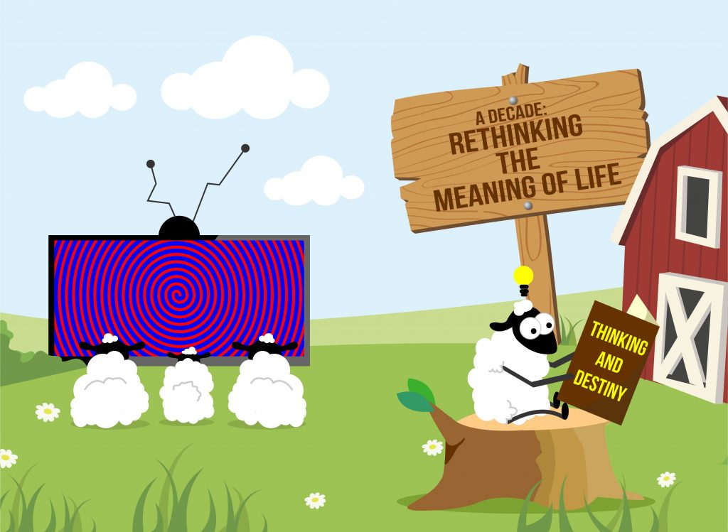 A Decade: Rethinking the Meaning of Life Author Interview